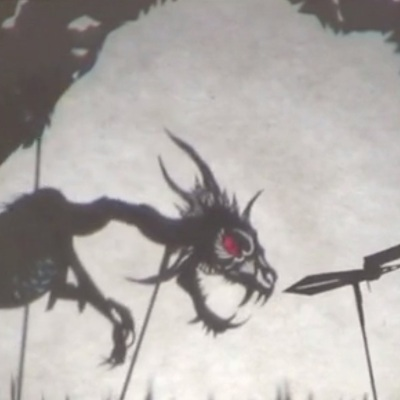 The Jabberwocky Shadow Puppet Play Puppetry