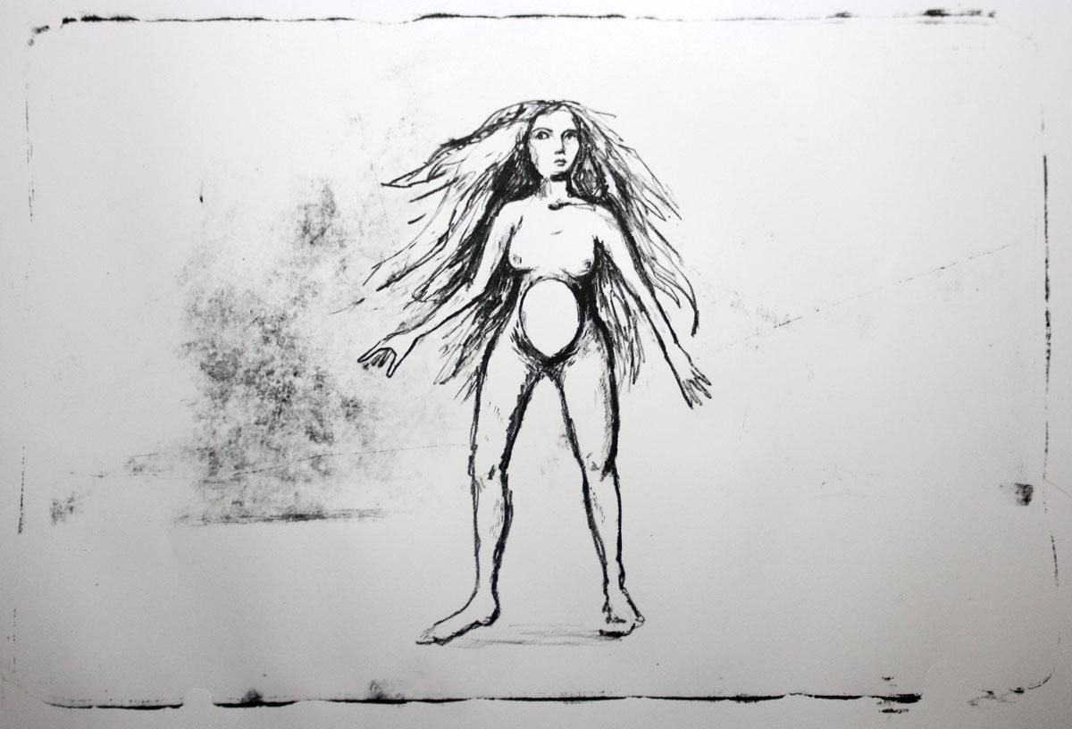 Lithography | Layla Holzer 2013