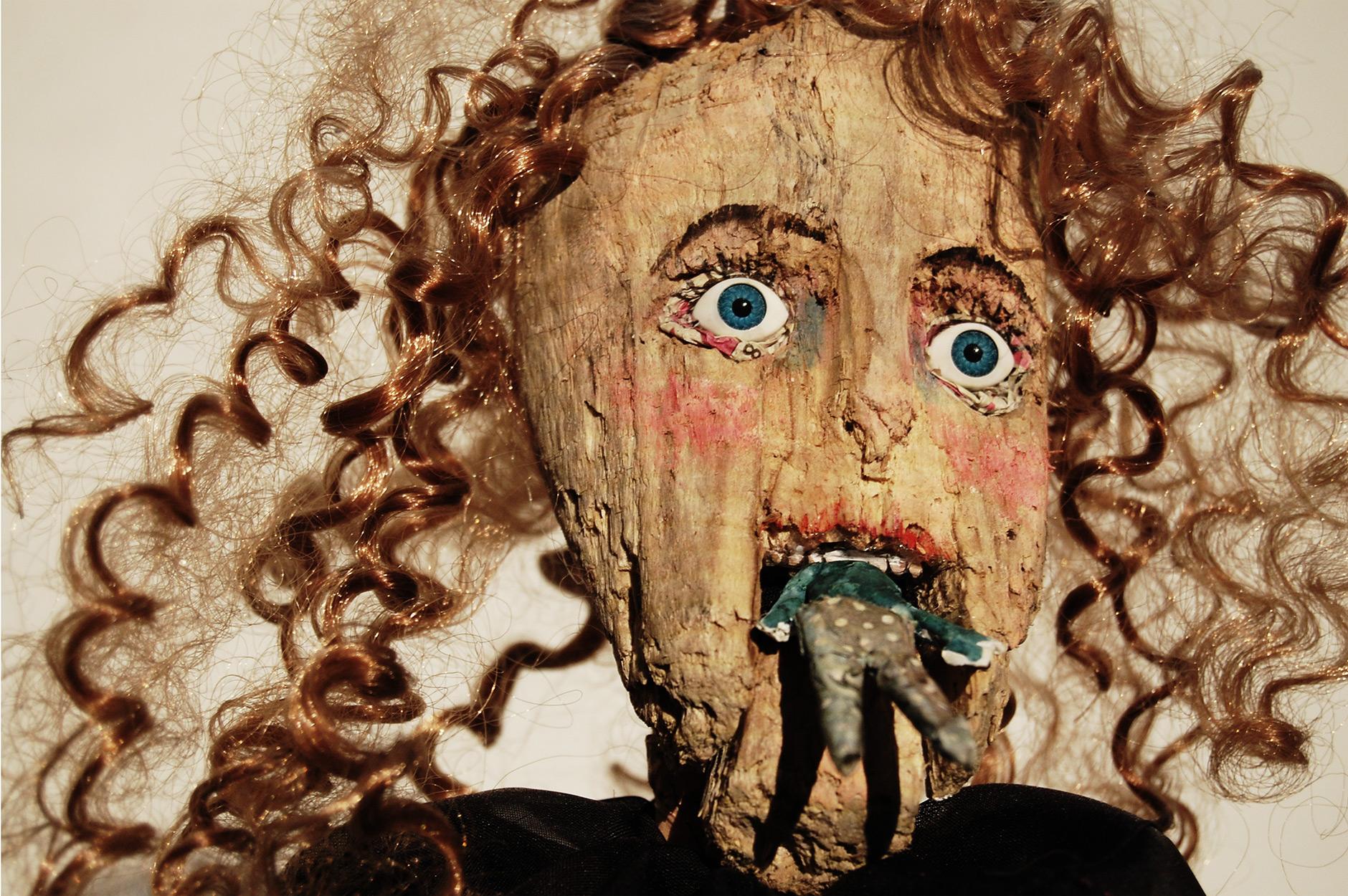 Lady Libertine by Layla Holzer rod puppet