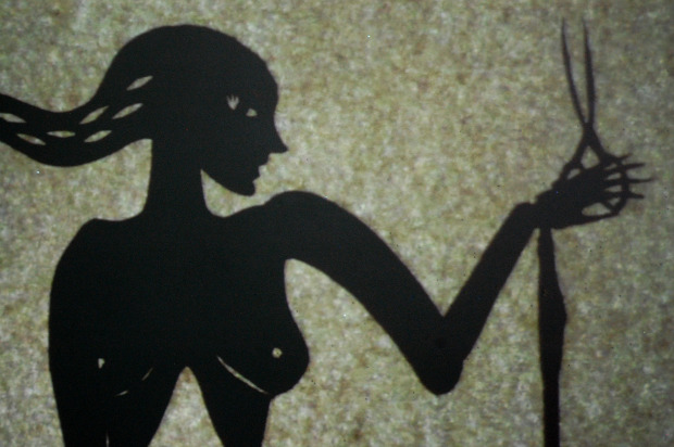 Gaea - Shadow Puppet Film by Layla Holzer puppets paper cut