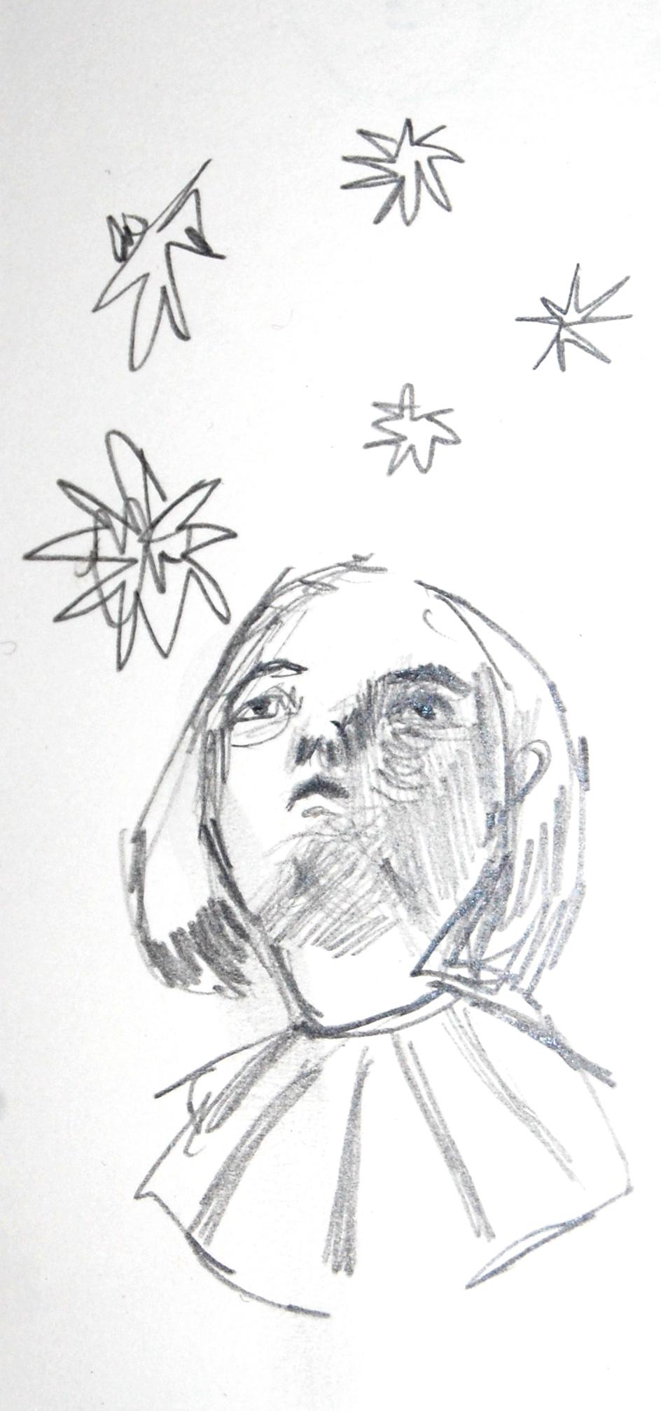 Stars (Pencil sketch)