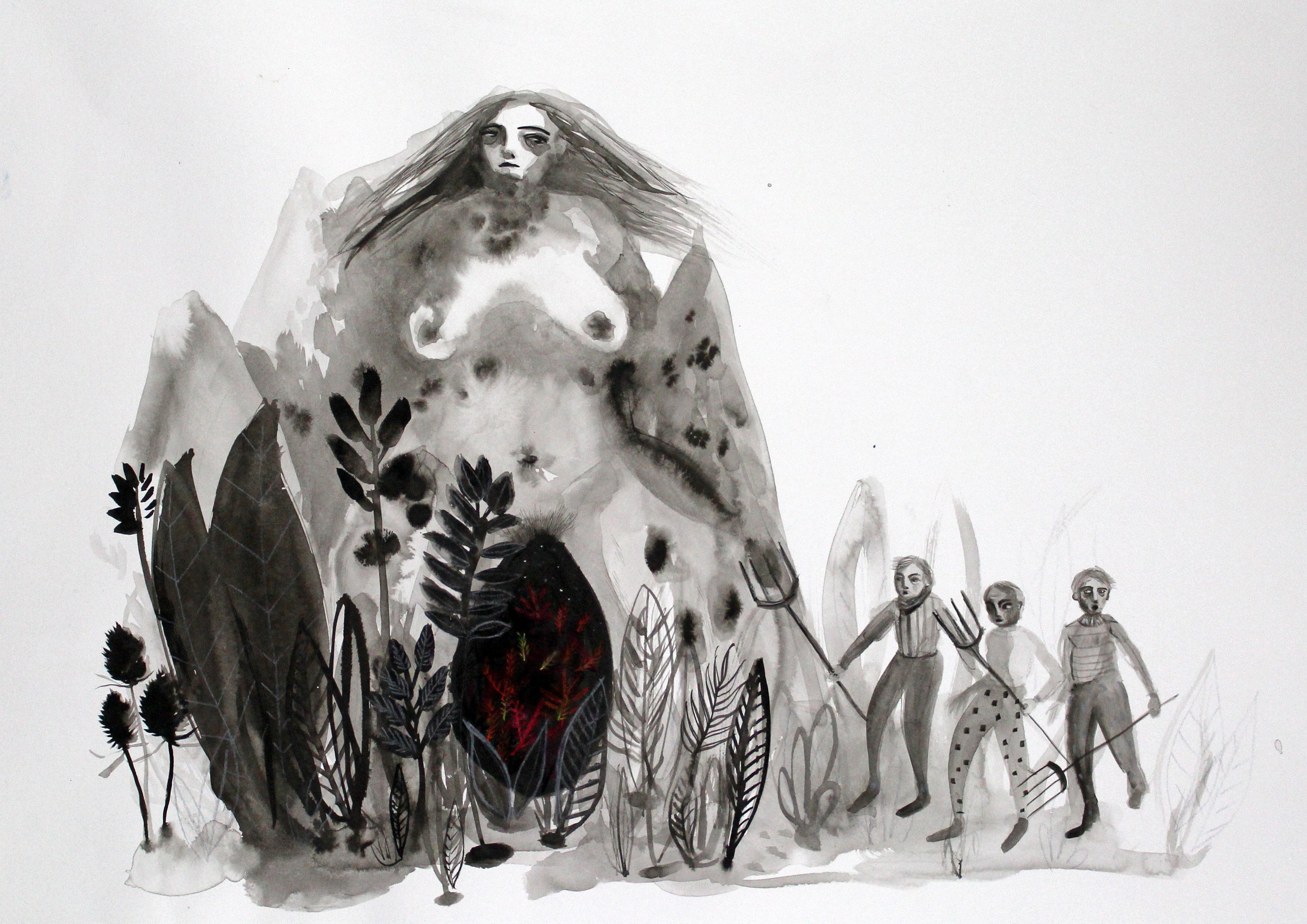 Monstrous Feminine by Layla Holzer 2015